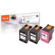 Peach Multi Pack Plus, compatible with HP No. 300, CC640EE, No. 300 color, CC643EE