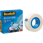 SCOTCH Tape 811 19mmx33m 8111933K invisible, removable