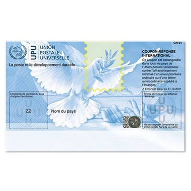 International Reply Coupon International Reply Coupon, Set of 10