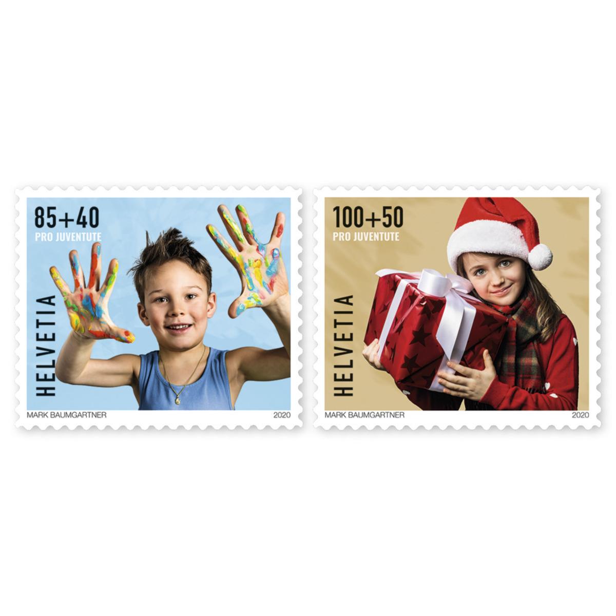 瑞士11月12日发行专业青少年队-快乐的童年邮票