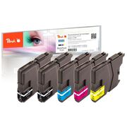 Peach Multi Pack Plus, compatible with Brother LC-985