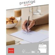 ELCO Envelope Prestige B6 70396.12 120g,white,w / o window 25 pcs.
