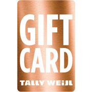 Giftcard Tally Weijl variable