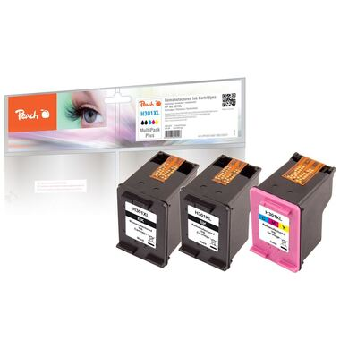 Peach Multi Pack Plus, compatible with HP No. 301XL, CH563EE, CH564EE