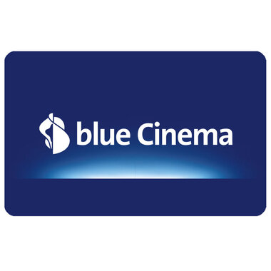 Giftcard blue Cinema variable