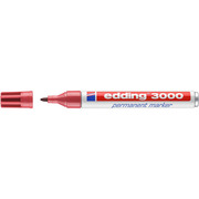EDDING Permanent Marker 3000 1,5 - 3mm 3000 - 19 crimson