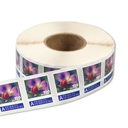 Vegetable blossoms, Roll Roll with 2'000 stamps «Vegetable blossoms» of CHF 1.00, self-adhesive, mint