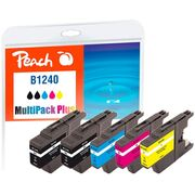 Peach Multi Pack Plus, compatible with Brother LC-1240