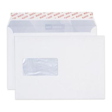 ELCO Envelope Premium w / window C5 32779 100g, white 500 pcs.