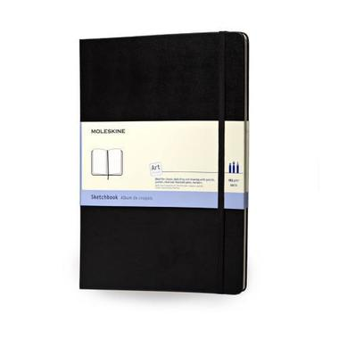 MOLESKINE Sketchblock A4 193 - 9 black