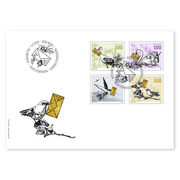 Special events, First-day cover Set (4 stamps, postage value CHF 4.00) on first-day cover (FDC) C6