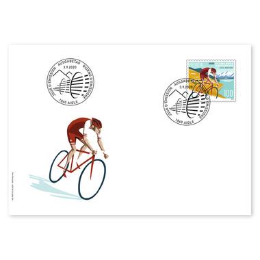 Image of 2020 UCI Road World Championships, Ersttagsumschlag